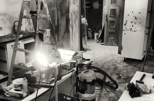 Sprzątanie po pożarze mieszkania Luboń