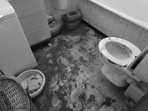 Sprzątanie po wybiciu kanalizacji